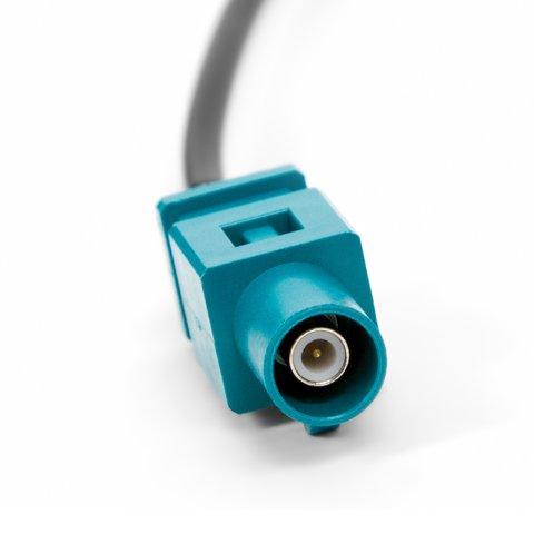 Переходник для подключения одинарной FAKRA-радиоантенны в автомобилях Volkswagen Превью 2