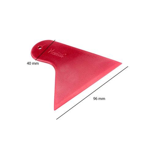 Інструмент для знімання обшивки з широкою плоскою лопаткою (поліуретан, 120×96 мм) Прев'ю 1