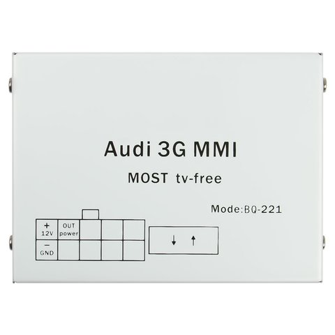 MOST Video Interface for Audi MMI 3G+  with TV/Video in Motion Module Preview 5