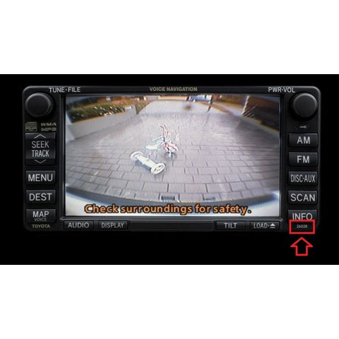 Camera Connection Cable for Toyota MFD GEN5/GEN6 DVD Navi Monitors Preview 6